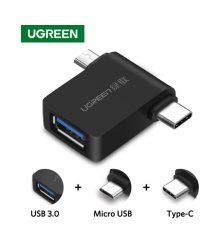 Micro USB USB C to USB 3.0 OTG